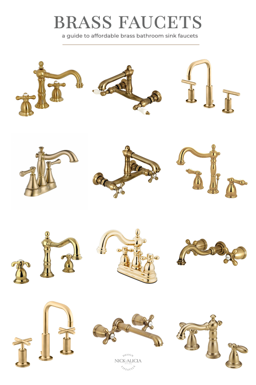 Affordable Brass Sink Faucets for Bathrooms