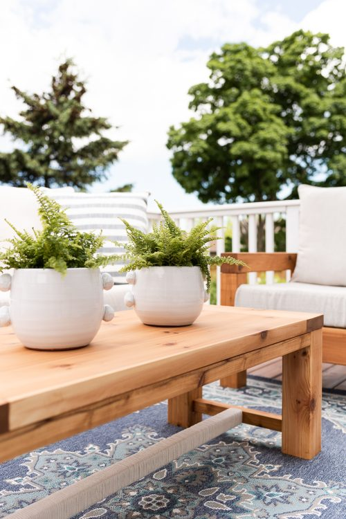 The Perfect Outdoor Coffee Table | Free Plans