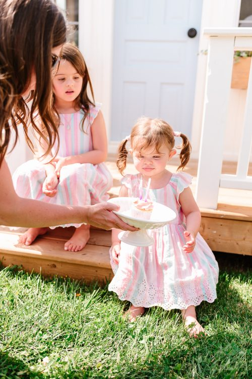 A Sweet Garden Birthday Party