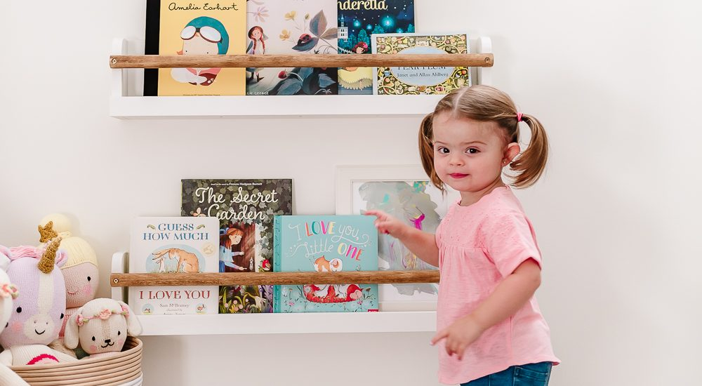 Simple and Modern Kids Book Ledges