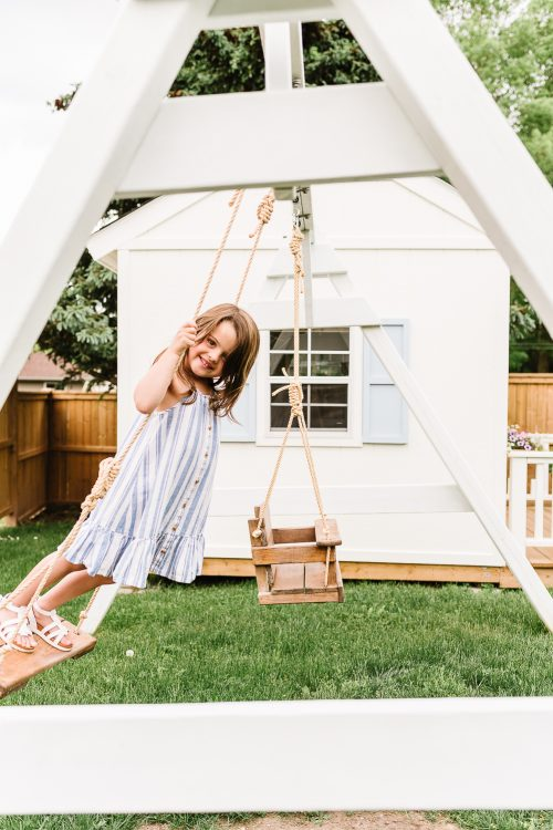 Simple Wooden Swing Set Plans