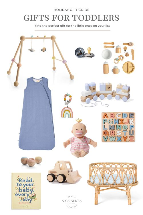 2020 Holiday Gift Guide for Babies and Toddlers