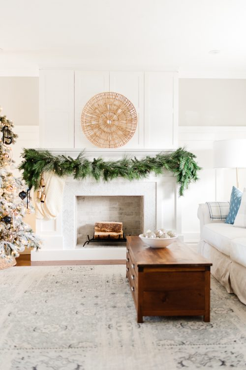 Step by Step Guide to Hanging Garland on a Mantel
