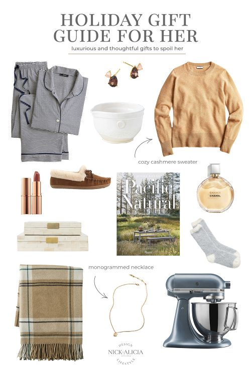 2021 Holiday Gift Guide for Her